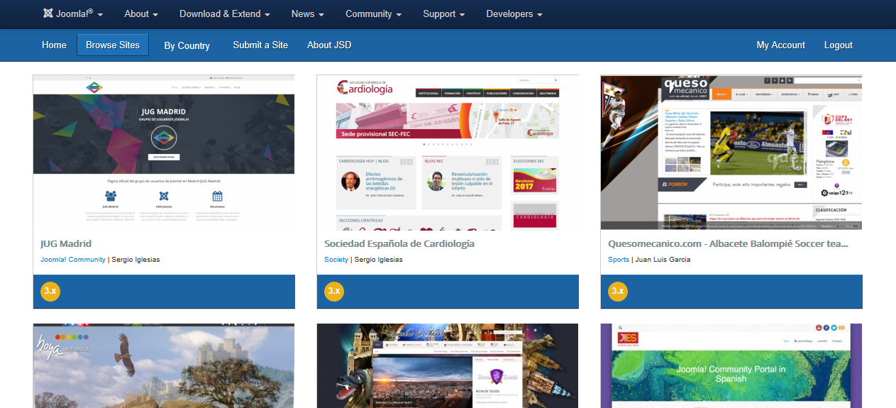 showcase joomla results